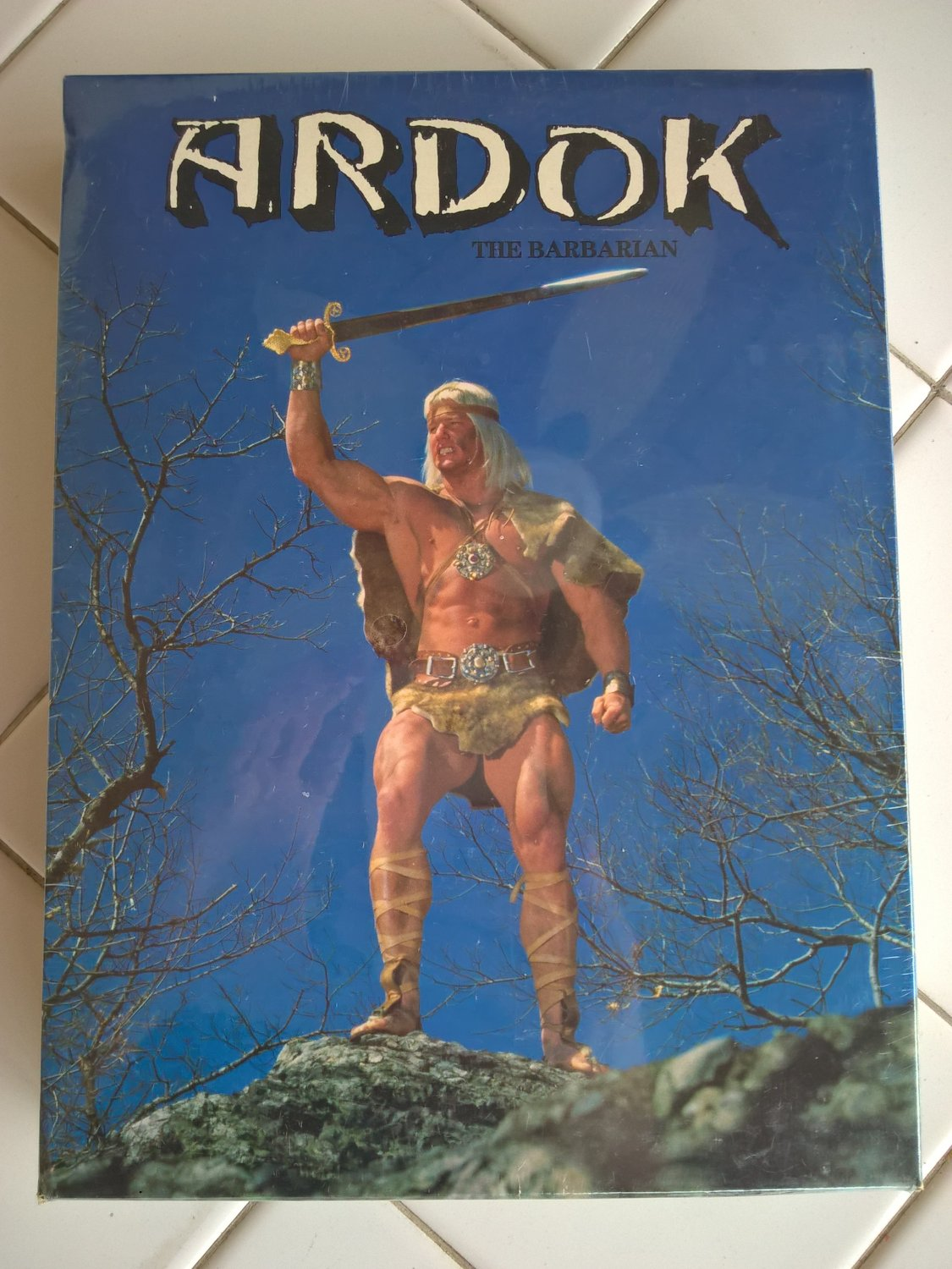 Ardok The Barbarian (Asterix) For Commodore 64/128, NEW FACTORY SEALED, UXB