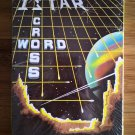 Istar Crossword For Commodore 64/128 & Atari 400/800, NEW FACTORY SEALED