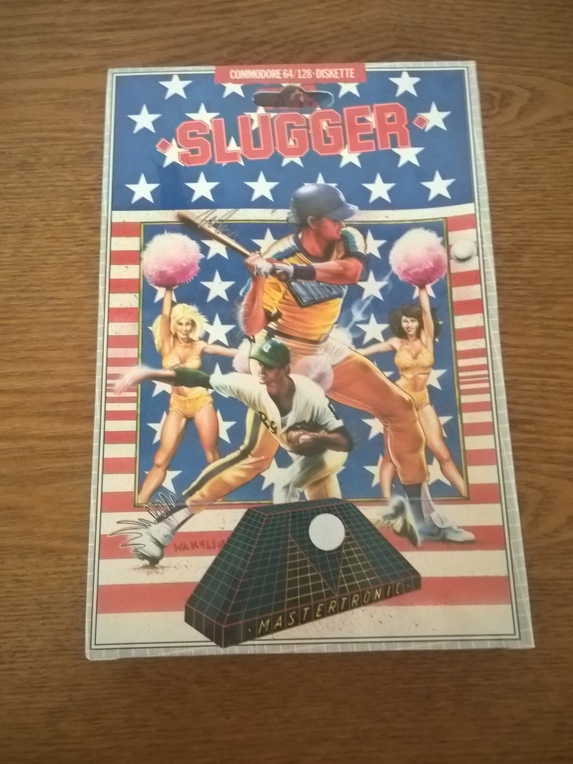 Slugger For Commodore 64/128, NEW FACTORY SEALED, MasterTronic