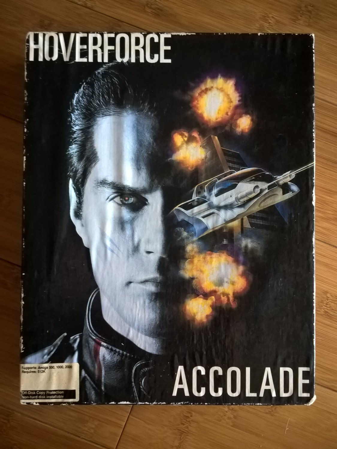 HoverForce For Commodore Amiga, NEW OPEN BOX, Accolade