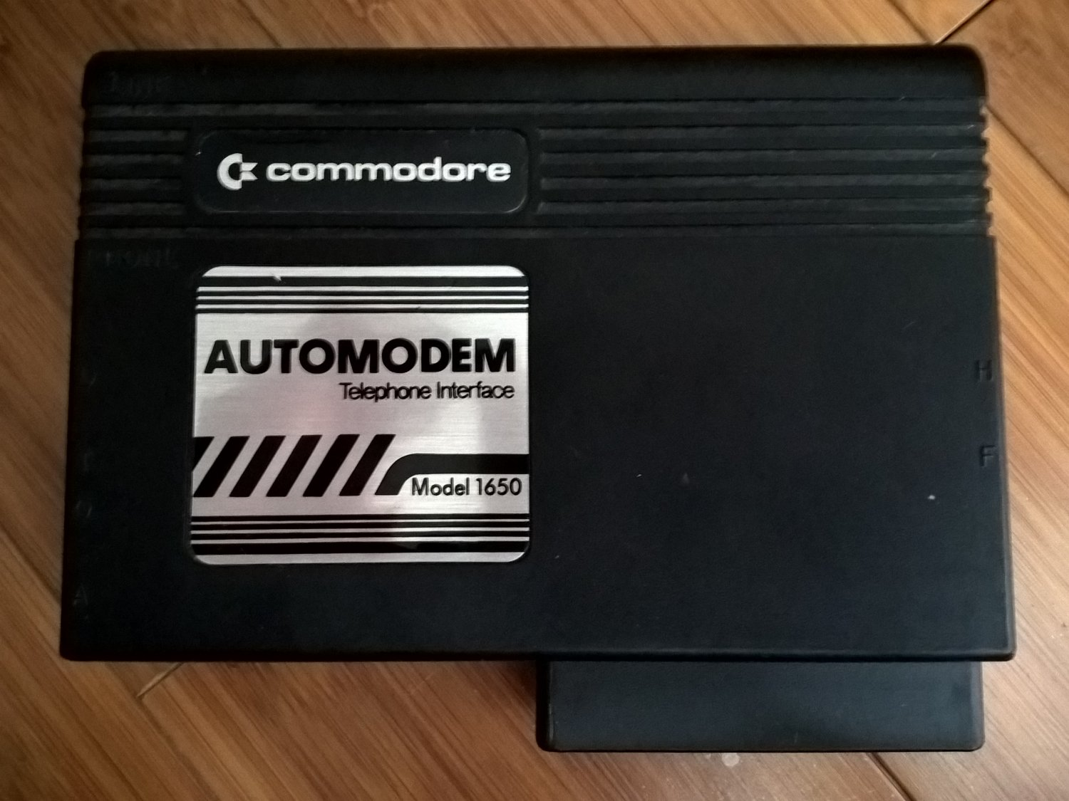 Commodore 1650 AutoModem For 64/128, 300 Baud Modem