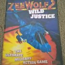 ZeeWolf 2 For Commodore Amiga, NEW FACTORY SEALED, Binary Asylum