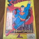 Superman: Man Of Steel For Commodore 64/128, NEW FACTORY SEALED, Capstone