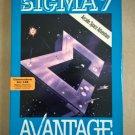 Sigma 7 for Commodore 64/128, NEW OPEN BOX, Avantage