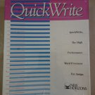 QuickWrite For Commodore Amiga, NEW FACTORY SEALED, New Horizons