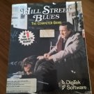Hill Street Blues For Commodore Amiga, NEW FACTORY SEALED, DigiTek