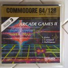 Arcade Games II For Commodore 64/128, NEW FACTORY SEALED, KeyPunch