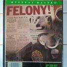 Felony! (Mystery Master) For Commodore 64/128, NEW FACTORY SEALED, CBS