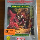 Dragons Of Flame For Commodore 64/128, NEW FACTORY SEALED, SSI AD&D Dragonlance