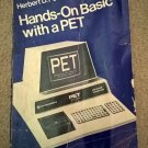 Hands-On Basic with A (Commodore) PET, 1979 Book, McGraw-Hill