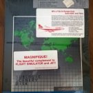 Sublogic Scenery Disk: Western European Tour For Commodore 64 128, NEW FACTORY SEALED