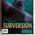 Subversion - Nautilus Attack Submarine For Commodore Amiga, NEW OPEN BOX, CDS