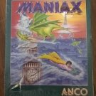 Maniax For Commodore Amiga, NEW FACTORY SEALED, Anco