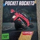 Pocket Rockets for Commodore 64/128, NEW OPEN BOX, CapCom