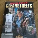Operation Cleanstreets For Commodore Amiga, NEW OPEN BOX, Broderbund