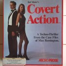 Covert Action For Commodore Amiga, NEW FACTORY SEALED, MicroProse / Sid Meier's