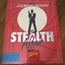007 James Bond: The Stealth Affair For Commodore Amiga, NEW OPEN BOX, Interplay