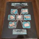 MaxiDesk For Commodore Amiga, NEW FACTORY SEALED, MaxiSoft