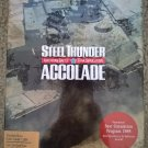 Steel Thunder For Commodore 64/128, NEW FACTORY SEALED, Accolade