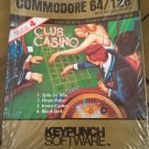 Club Casino For Commodore 64/128, NEW FACTORY SEALED, KeyPunch