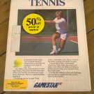 On-Court Tennis For Commodore 64/128, NEW FACTORY SEALED, Gamestar