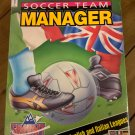 Soccer Team Manager For Commodore Amiga, NEW OPEN BOX, Summit