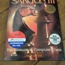 Sargon III For Commodore 64/128 & Atari XL/XE, NEW SEALED, Hayden