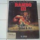 Rambo III For Commodore Amiga, NEW FACTORY SEALED, Tatio