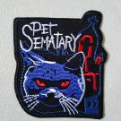 """Pet Sematary The Movie Iron On Sew On Embroidered Patch Horror Film 3"""""""