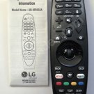 LG AN-MR650A Magic Remote Control Voice Mate Smart TVs ANMR650A for 2017 and 2018