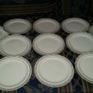 Vintage Lot of Taylor Smith & Taylor TS&T Dessert Plates - 11,1799 ; 7 3/8 inch