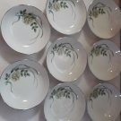 Vintage Harmony House by Sears Fleur 5 1/2 in Berry Soup Dessert Bowls Lot of 8