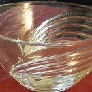 Mint Vintage Lenox Falling Star Lead Crystal 10 1/4 in Bowl,Czech Republic