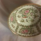 Vintage 1980's Andrea by Sadek Rose Medallion Bowl