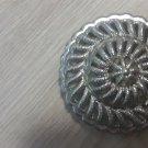 RARE VHTF Monet Silver Toned Domed Brooch / Pin