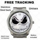 Nightmare Before Christmas Jack Skellington Unisex Sport Metal Watch