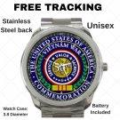 USA Vietnam 50th Services Unisex Sport Metal Watch