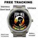 POW/ MIA Vietnam Veterans Unisex Sport Metal Watch