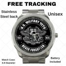 United States Military Veterans Unisex Sport Metal Watch