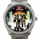 Kiss Love Gun Unisex Sport Metal Watch