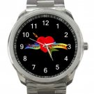 Tom Petty and the Heartbreakers Unisex Sport Metal Watch