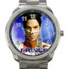 Late Prince Rock Singer Unisex Sport Metal Watch
