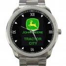 John Deere Tractor City Unisex Sport Metal Watch