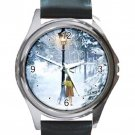 Chronicles Of Narnia Unisex Round Metal Watch-Leather Band