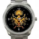 Free Mason Unisex Sport Metal Watch