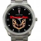 Pontiac Trans Am Logo Unisex Sport Metal Watch
