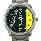 Jaguar Logo Unisex Sport Metal Watch