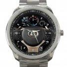 Lexus Automobile Car Steering Wheel Unisex Sport Metal Watch