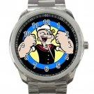 Popeye the Sailor Unisex Sport Metal Watch