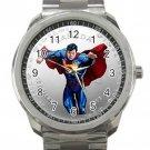 Canada Coin Superman Image Unisex Sport Metal Watch